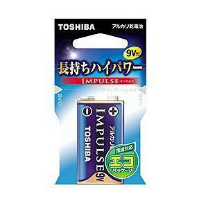 東芝 アルカリ電池 IMPULSE 6LF22H EC