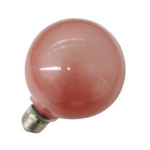 旭光電機工業 G95110V60W(R) バルーンカラー電球 レッド