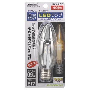 ヤザワ シャンデリア 電球色 LEDランプ LDC1L-G32-E173