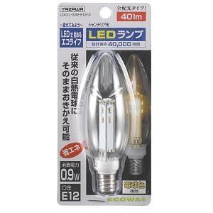 ヤザワ シャンデリア 電球色 LEDランプ LDC1L-G32-E123
