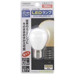 ヤザワ LEDランプ LDA1L-G35-E17W3