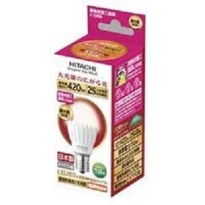 日立 LED電球 小形電球タイプ 7.0W 口金E17 420lm LDA7LGE17DS