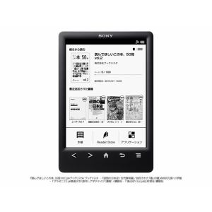 SONY 電子書籍リーダー WiFiモデル/6型 PRS-T3S(B)