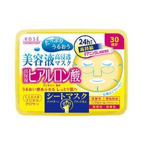 コーセーコスメポート クリアターン エッセンスマスク (ヒアルロン酸)  (30回分)
