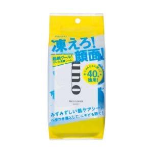 資生堂 ウーノ ふくだけ洗顔シートEX <L> (40枚)