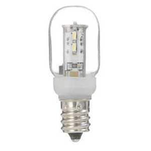 ヤザワ ナツメ形LEDランプ電球色E12クリア LDT1LG20E12
