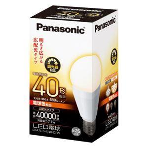 Panasonic LED電球 7.1W(電球色相当) LDA7LGK40DW