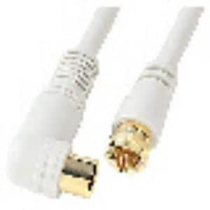 サン電子 衛星放送対応ノイズカットプラグケーブル FLP4B20SP