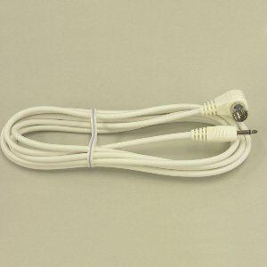 マスプロ 片端L型プラグ・片端ミニプラグ付 TV接続ケーブル3m JLM3-P