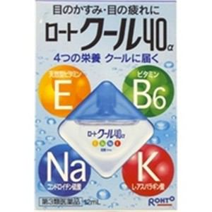 ロート製薬 ロート クール 40α(第3類医薬品)