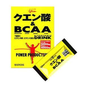 江崎グリコ パワープロダクション クエン酸&BCAA 124g 【栄養補助】