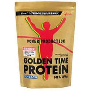 江崎グリコ パワープロダクション ゴールデンタイムプロテイン サワーミルク味 1kg 【栄養補助】