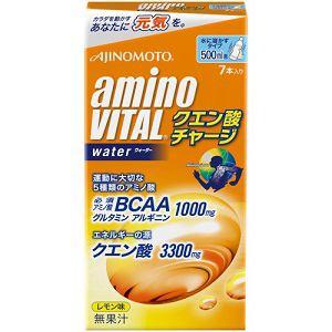 味の素 アミノバイタル クエン酸チャージウォーター 10g×7本 【健康補助】