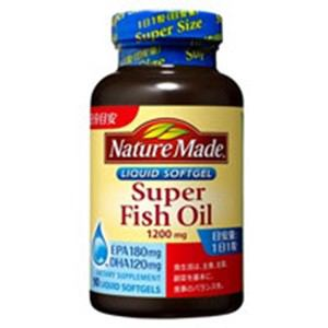 大塚製薬 ネイチャーメイド スーパーフィッシュオイル(EPA/DHA) 90粒 【栄養補助】