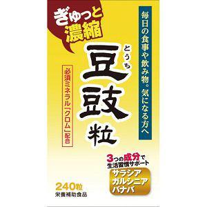 ウェルネスジャパン(WELLNESS JAPAN) 豆鼓(とうち)粒 240粒 【健康補助】