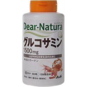 アサヒフードアンドヘルスケア(Asahi) アサヒ ディアナチュラ グルコサミン with II型コラーゲン 360粒 【健康補助】