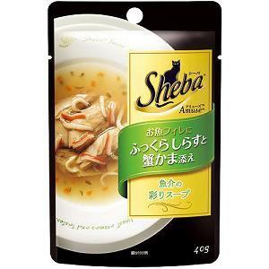 マースジャパン お魚フィレにふっくらしらすと蟹かま添え 40g