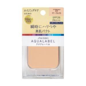 資生堂 アクアレーベル 明るいつや肌パクト オークル00 (レフィル) (11.5g)