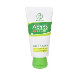 ロート製薬 メンソレータム アクネス 薬用クリーム洗顔 (130g)
