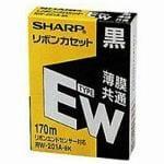 SHARP タイプEWリボンカセット ワープロ用リボンカセット RW201ABK