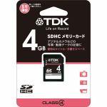 TDK T-SDHC4GB4 SDHCメモリーカード 4GB Class4