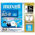 maxell 録画用 BD-R Ver.1.2 1-4倍速 25GB 10枚 BR25VFWPB.10S