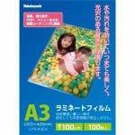 ナカバヤシ LPR-A3E2 ラミネートフィルム E2 タイプ 100 枚入