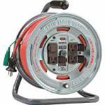 ハタヤ 温度センサー付コードリール 単相100V20M
