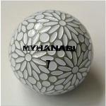 HANABI MYHANABI 【ゴルフボール】 1スリーブ(3球)クールグレイ&ホワイト