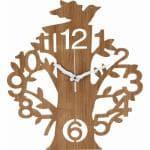 壁掛け時計 ツリー  ナチュラル