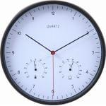 掛時計 ローレス ブラック 25cm