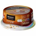 SONY CD-R オーディオ 30CRM80HPXP