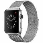 アップル(Apple) MNU02J/A Apple Watch Series 2 42mm ステンレススチールケースとミラネーゼループ
