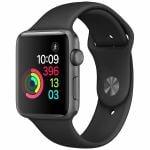 アップル(Apple) MP0G2J/A Apple Watch Series 2 42mm スペースグレイアルミニウムケースとブラックスポーツバンド