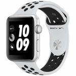 アップル(Apple) MQL32J/A Apple Watch Nike+(GPS) 42mm シルバーアルミニウムケースとピュアプラチナ/ブラックNikeスポーツバンド