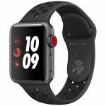 アップル(Apple) MQM82J/A Apple Watch Nike+(GPS + Cellularモデル) 38mm スペースグレイアルミニウムケースとアンスラサイト/ブラックNikeスポーツバンド