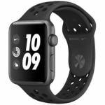 アップル(Apple) MTF42J/A Apple Watch Nike+ Series 3(GPSモデル)- 42mmスペースグレイアルミニウムケースとアンスラサイト/ブラックNikeスポーツバンド
