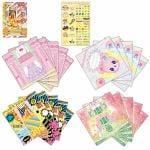 バンダイ アイカツ!カードつきファッションレター Angely Sugar&HAPPY RAINBOW&Aurora Fantasy セット