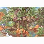 テンヨー ジグソーパズルディズニーふしぎの森のツリーハウス1000ピース