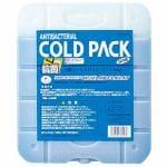 キャプテンスタッグ CAPTAIN STAG 抗菌コールドパック Lサイズ 1000g 保冷剤 ポリエチレン(無機系抗菌剤使用) M-9503