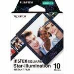 富士フイルム INSTAXSQUARESTARILLUMIWW1 チェキ インスタントカラーフィルム チェキスクエア用フィルム 「instax SQUARE スターイルミネーション」