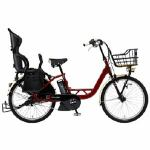 ヤマハ 24型 電動アシスト自転車 PAS Crew Disney Edition ミッキー90周年限定デザイン(アメリカンレッド/内装3段変速)PA24AGC9J【2019年モデル】