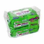 白十字 サルバ お肌にやさしいぬれタオル 60枚×2パック (120枚入) 【衛生用品】