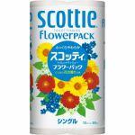 日本製紙クレシア スコッティ フラワーパック シングル 12ロール 【日用消耗品】