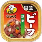 日本ペットフード  ビタワンGOO 成犬用 ビーフ&野菜  100g