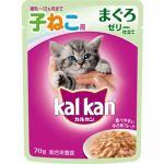 マースジャパン カルカンウィスカス 12ヶ月までの子猫用 まぐろ ゼリー仕立て 70g パウチ