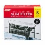 ジェックス スリムフィルターS 専用ろ過材2個付 淡水・海水両用 幅20~40cm 25L以下ノ水槽用