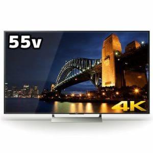 ソニー KJ-55X9000E BRAVIA(ブラビア) 55V型 地上・BS・110度CSデジタル 4K対応 LED液晶テレビ