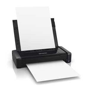 EPSON 【スマホ/タブレット対応】A4モバイルプリンタ[無線LAN/USB2.0] ブラック PX-S05B