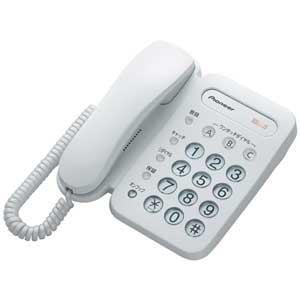 PIONEER 電話機 TF-12-W